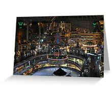 Lotte World From Above Greeting Card