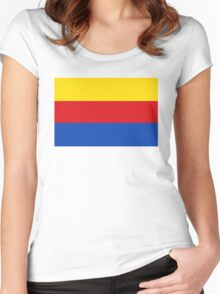 North Holland flag Women's Fitted Scoop T-Shirt