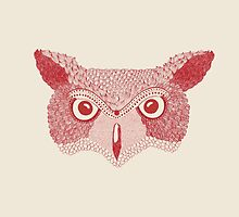 owl red by square-lemon