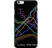 Lima Metro  iPhone Case/Skin