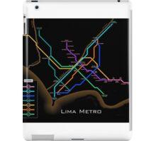Lima Metro  iPad Case/Skin