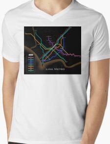 Lima Metro  Mens V-Neck T-Shirt
