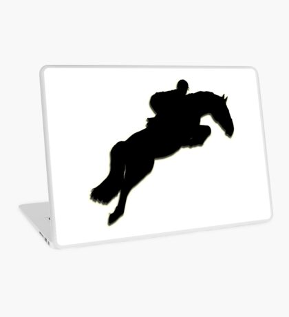 Show jumper Silhouette Laptop Skin
