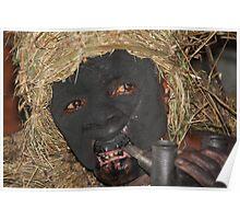 batwa pygmy spirit man Poster