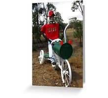 The Jolly Swagman Greeting Card