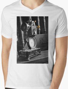 Antique Film Projector Mens V-Neck T-Shirt