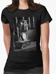 Antique Film Projector Womens Fitted T-Shirt