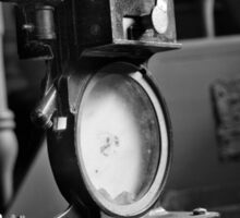 Antique Film Projector Sticker