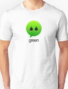 GREEN TYPOGRAPHY Unisex T-Shirt