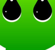 GREEN TYPOGRAPHY Sticker