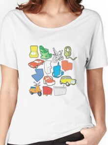 line art Women's Relaxed Fit T-Shirt