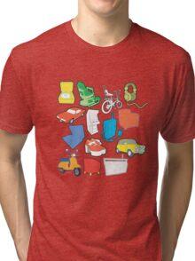 line art Tri-blend T-Shirt