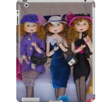 The Girls Are Dressed For Shopping iPad Case/Skin