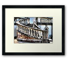 Steps at Queen's House Framed Print