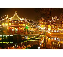 Shanghai Glow Photographic Print