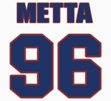 Basketball player Metta World jersey 96 by imsport