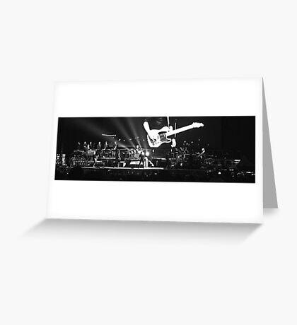 Springsteen at Hanging Rock Greeting Card