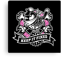 """Keep It Fixed"" Canvas Print"