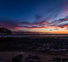 Gatakers Bay Sunset by Brent Randall