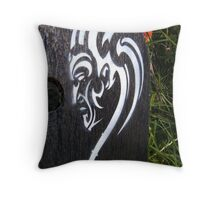World Canvas Throw Pillow