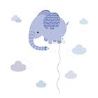 Elephant Cloud by estherilustra