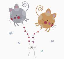 Cats Globe Kids Tee