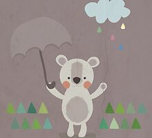 Rain by estherilustra
