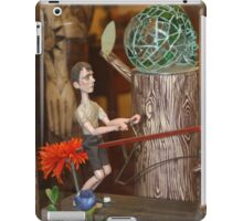 Unique Whimisical Mechanical Seesaw Toy iPad Case/Skin