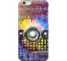 Vintage Disco Music iPhone Case/Skin