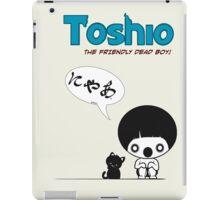 Toshio iPad Case/Skin
