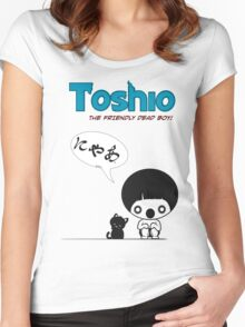 Toshio Women's Fitted Scoop T-Shirt