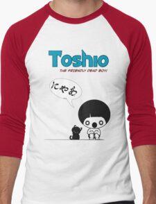 Toshio Men's Baseball ¾ T-Shirt