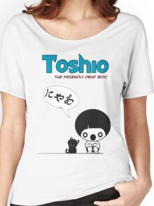 Toshio Women's Relaxed Fit T-Shirt
