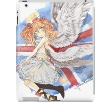 Britannia Angel! iPad Case/Skin