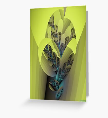 Sconce Greeting Card