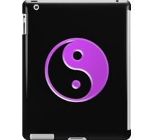 Purple Yin Yang Symbol iPad Case/Skin
