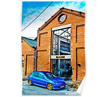 Peugeot 206 Poster