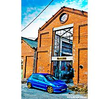 Peugeot 206 Photographic Print