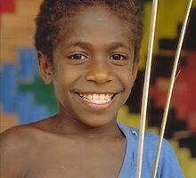 Ni-Vanuatu Boy 2 by Geoff Judd