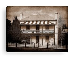 Station Master's Cottage - Uralla, NSW, Australia Canvas Print