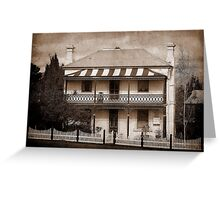 Station Master's Cottage - Uralla, NSW, Australia Greeting Card