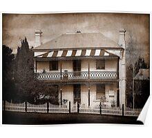 Station Master's Cottage - Uralla, NSW, Australia Poster