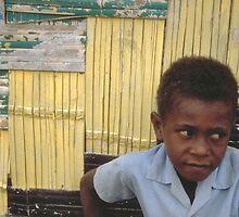 Ni-Vanuatu Boy by Geoff Judd