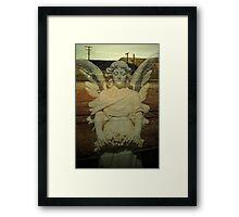 desert angel.....my lady of the slag heap Framed Print