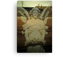 desert angel.....my lady of the slag heap Canvas Print