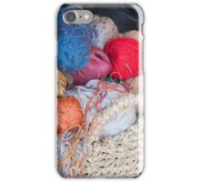 wool in basket iPhone Case/Skin