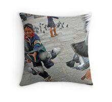 Wild Ambition Throw Pillow
