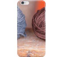 balls of wool iPhone Case/Skin