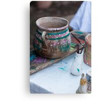 art of the potter Canvas Print