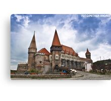 Corvins Castle Canvas Print